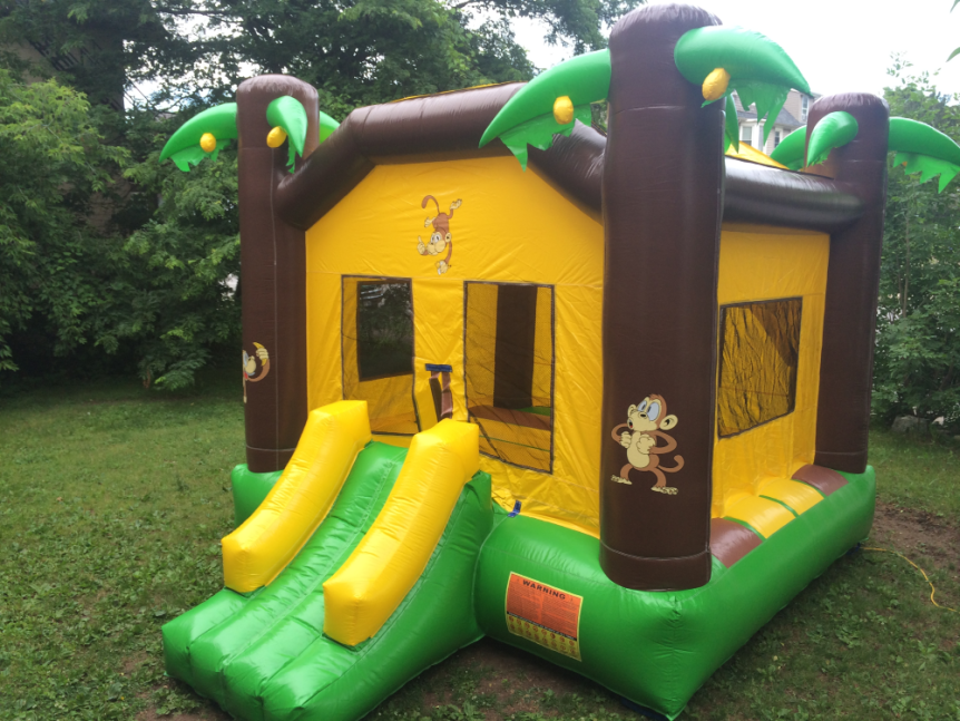 jungle cheap bounce house rentals