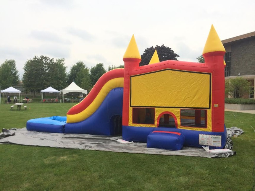 Large Bounce House rental water slide