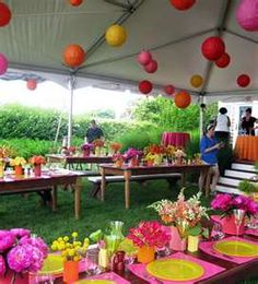 Tent Table Chairs Rental Company