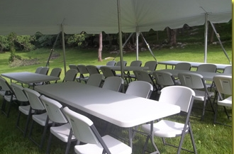 milwaukee, WI chairs and table rentals